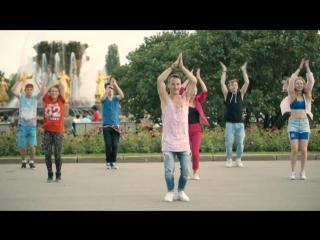 Танцевальный флэшмоб для фестиваля Вдохновение_ учим движения