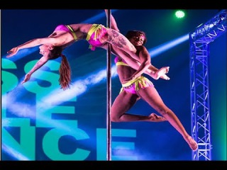 Shirley Oparah & Jane Giles  - Doubles - Miss Pole Dance UK 2017