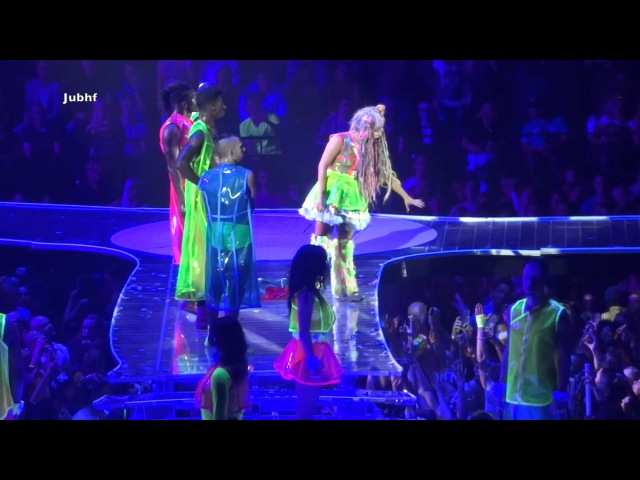 Lady Gaga stops a fight at concert The Artrave The Artpop Ball live in Antwerp Sportpaleis