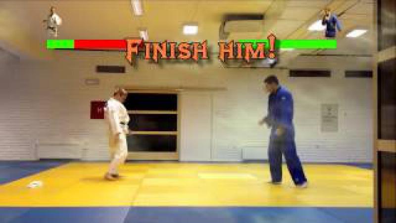 Judo Mortal Kombat Style