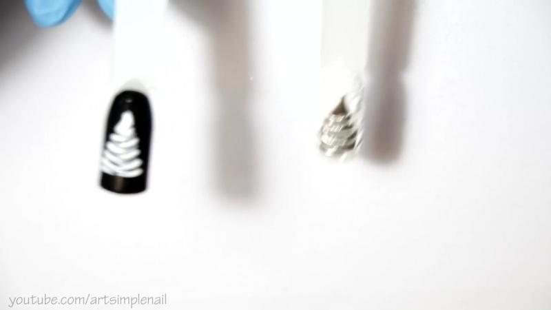 Экспресс РќРѕРІРѕРіРѕРґРЅРёР№ дизайн ногтей Быстрый маникюр Р РёСЂР СЏРЅРґС‹ РвездочР