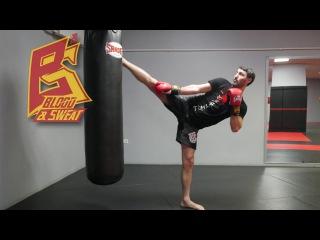 Топ комбинации тайского бокса от чемпиона мира / Нокаутирующие удары муай тай