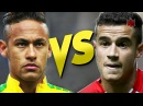Neymar Jr vs Philippe Coutinho - Insane Skills Tricks