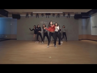 Clc (씨엘씨) - black dress dance practice (mirrored)