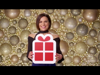 Abc – share the joy (lana parrilla, dania ramirez, gabrielle anwar)