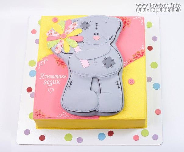 "Торт на годик ""Мишка Тедди"", 4 кг cake"