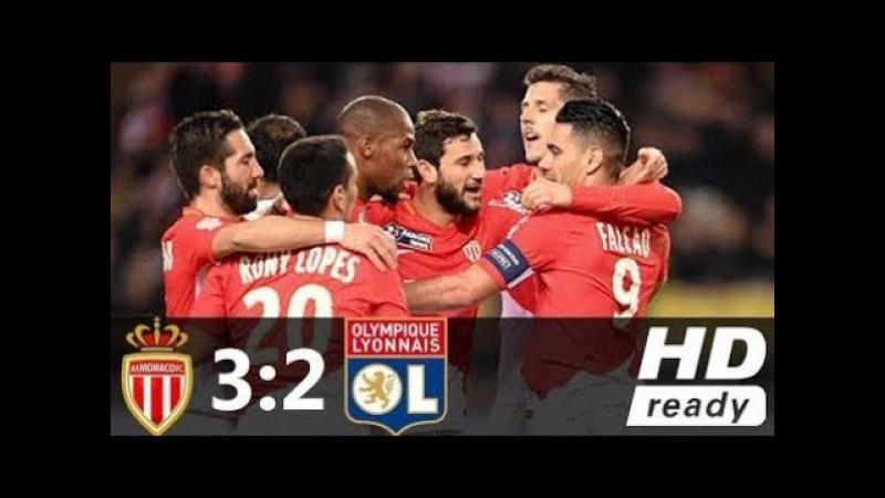 Monaco vs Lyon (3-2)_Hasil liga prancis 05022018