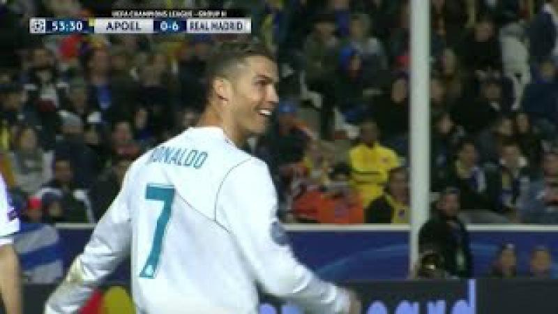 Apoel vs Real Madrid 0 6 All Goals Highlights HD Ampia Sintesi 21 11 17