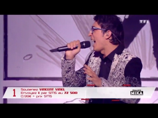 The Voice 6 FINAL : Vincent Vinel -  Take On Me