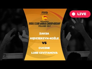 Men's Club World Championship, Group A, ZAKSA Kdzierzyn-Kole  Cucine Lube Civitanova