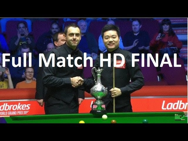 Ronnie O'Sullivan vs Ding Junhui ᴴᴰ World Grand Prix Snooker Championship 2018 FINAL FULL MATCH