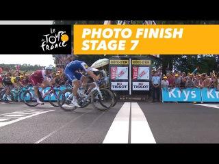 Photo Finish - Stage 7 - Tour de France 2017