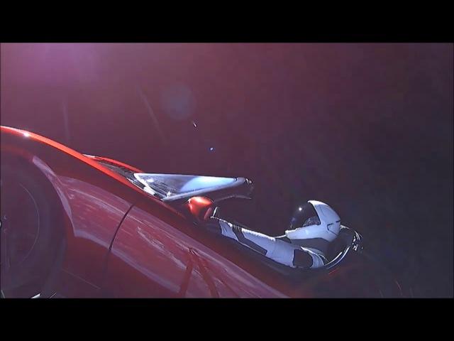 David Bowie - Space Oditty (Tesla Roadstar SpaceX )