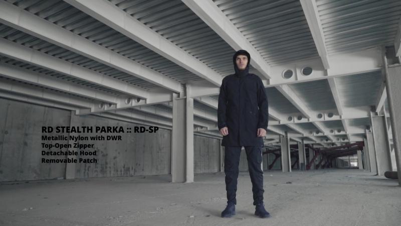 Riot Division Stealth Parka 3Gen Dark Blue Instruction