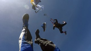 Friday Freakout: Messy Malfunction Wraps Around Skydiver's Foot, Loses Shoe To Save The Day!