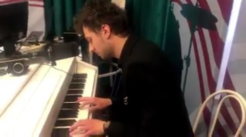 Школа Музыки Форте on Instagram Импровизация на тему джингла радио Орфей В прямом эфире пианист Никита Хабин Профессиональный пианист участ