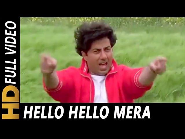 Hello Hello Mera Telephone Number | Mohammed Aziz | Kshatriya Songs | Sunny Deol, Raveena T