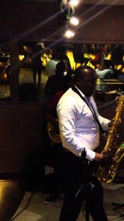 Brian Mugenyi performing Kuku with Parseen and Different Faces at Kiza in Nairobi