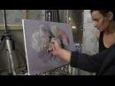 Художник Игорь Сахаров, живопись для начинающих, пишем пионы маслом