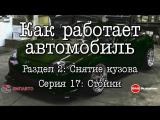 Как работает автомобиль S02 Снятие кузова E17 Стойки [BMIRussian]