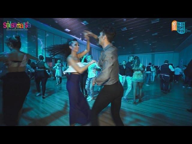 VERONICA LOPEZ ERSIN ALTAS SALSA   MUSIC DJ ORHUN   10.SALSA JAM IN CYPRUS!
