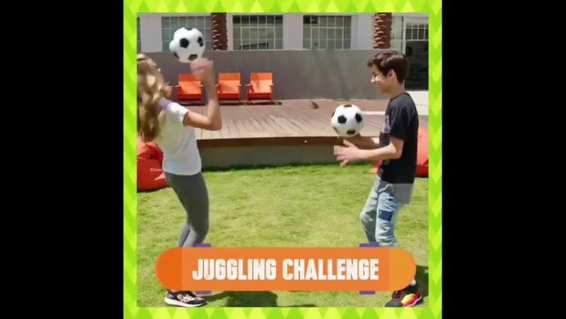 @lizzy_greene @aidanrgallagher from NRDD have some fun tips for getting sporty! Are you excited for Worldwide Day of Play