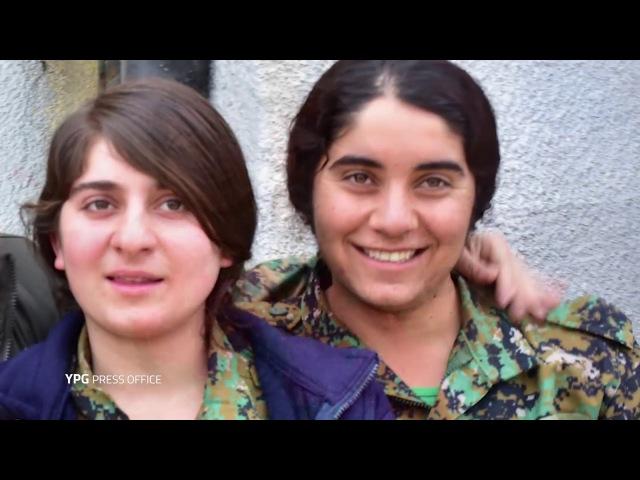 YPG ü YPJ Bîranîna şehîdên Qereçox