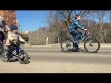 Открытие велосезона в Железнодорожном