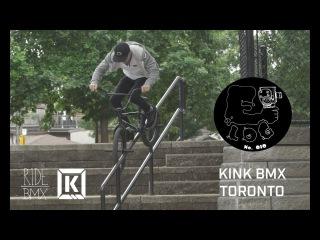 BMX IN TORONTO CANADA WITH KINK BMX - E-LOG 010 // insidebmx