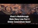 ★Elder Scrolls Online ★ Vivec's Walkthrough Main Story Line DIVINE CONUNDRUM Part 3