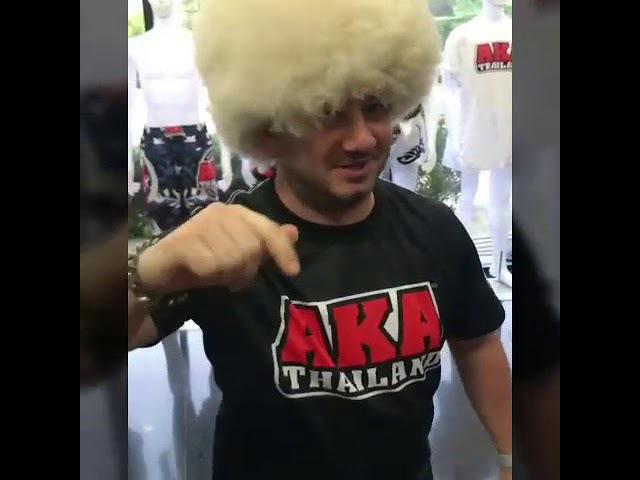 Михаил Галустян - породия Магрегора   даёт вызов Хабибу Нурмагомедову