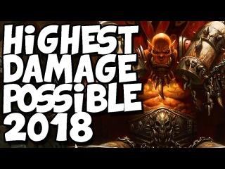Highest Damage Possible 2018 [Hearthstone]