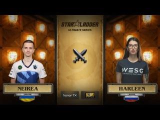 Neirea vs harleen, StarLadder Hearthstone Ultimate Series