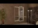 Настенная гладильная доска-зеркало BELSI ROMA REGALE