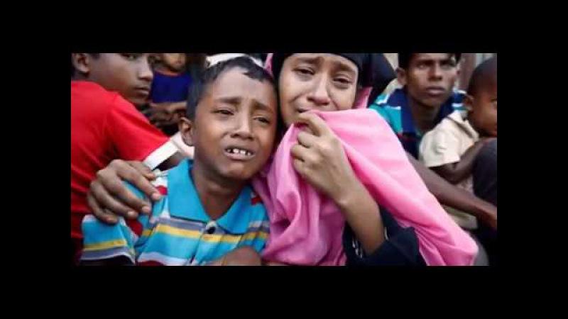 🔴 БИРМА - РАХИНЬЯ Геноцид МУСУЛЬМАН (Мьянма) - 2017 Pray for Burma Arakan Myanmar