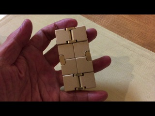 Металлический Бесконечный куб. Infinity Cube metal.