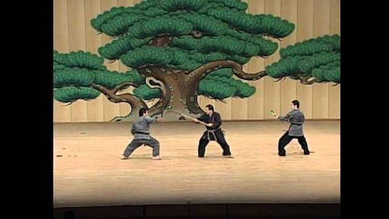 約束組手 棒対釵の組手 棒対鎌の組手 Yakusoku Kumite Bo&Sai Kumite Bo&Kama Kumite