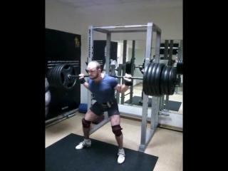 Аркадий Шалоха, приседания 265 кг на 5 раз