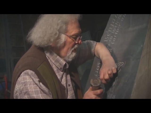 Unintentional ASMR 🔨 Welsh Stone Carver (Tapping Gently Sharing Wisdom)