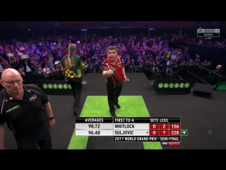 Simon Whitlock vs Mensur Suljović (PDC World Grand Prix 2017 / Semi Final)