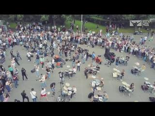 Уличные музыканты/ Rocknmob Linkin Park - Numb