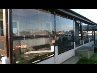 мягкие окна на беседки и веранды