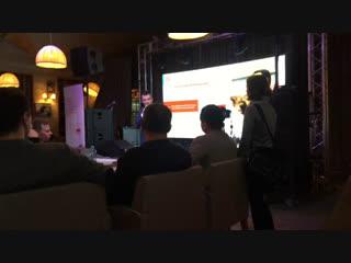 Бизнес-Клуб Делового Петербурга - выступление Василия Якеменко о важности речи в компании