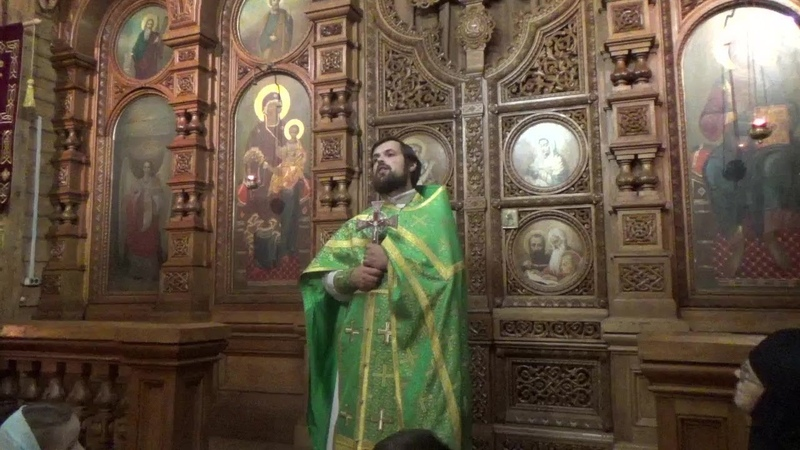 Проповедь иерея Сергия Чекоданова на память святой вмц. Варвары