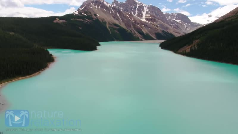 Above the Rocky Mountains - Banff in 4K Nature Relaxation™ Ambient Aerial Film M