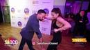 Talal Benlahsen and Irena Prodanova Cha-cha-cha Dancing at El Sol Warsaw Salsa Festival, 11.11.2018