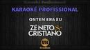Zé Neto e Cristiano - ONTEM ERA EU - Karaokê Profissional Versão Vithor Hugo Studios