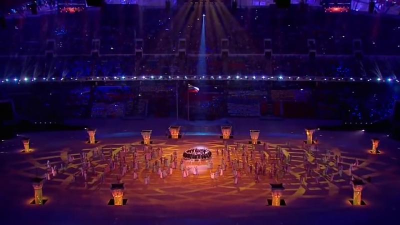 Символическое послание В Путина России и Миру на Церемонии открытия Олимпиады в Сочи 2014