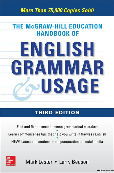 McGraw-Hill Education Handbook of English Grammar & Usage, 3rd Edition