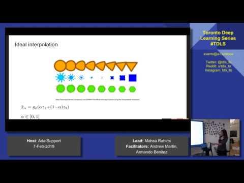 TDLS Understanding and Improving Interpolation in Autoencoders via an Adversarial Regularizer